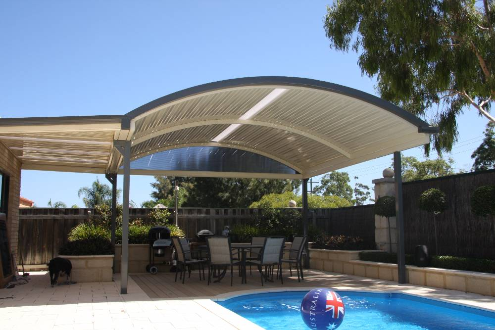 Curved Dome Patio - 7